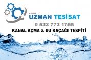0(532) 772 1755  Çeşme Kanal Açma Su Kaçağı Tespiti
